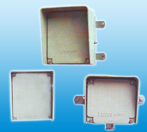 Hot Moulded Weather Proof Junction Box With Extra Deep Integral Canopy